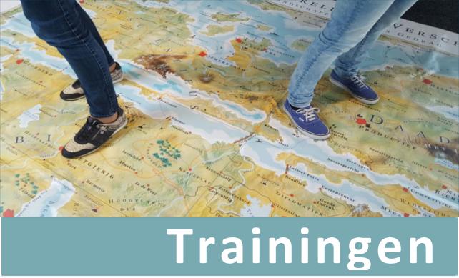 Trainingen - Via professionele trainers (MapsTell Guides) biedt MapsTell toegankelijke, interactieve en zeer betaalbare trainingen voor bedrijven en organisaties aan. Lees verder en ontdek welke training of workshop het beste aansluit op de wensen van jouw organisatie!